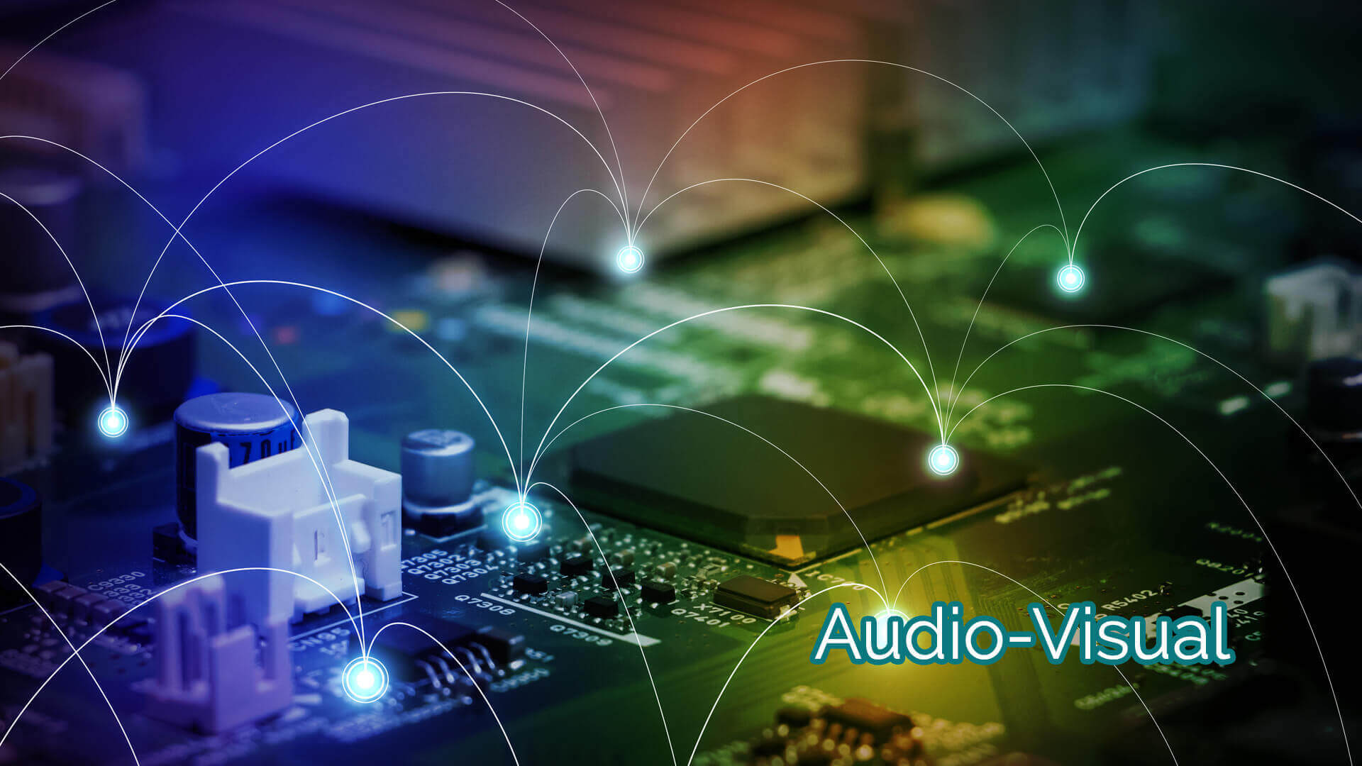 audio visual component sourcing services